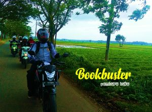 """BOOKBUSTER – """"Komunitas Motor Pemburu Buku"""""""