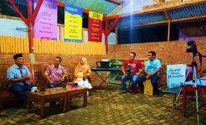 """Angkat Potensi Desa Literasi, Kades Ketapang Dukung Program Talk Show """"OPLOSAN"""""""