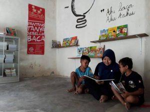 Penggerak literasi tak hanya butuh buku