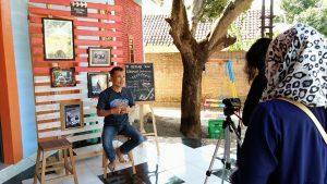 Tim Gramedia Pusat Sambangi Basecamp RLI Sebagai Finalis GRCC 2018
