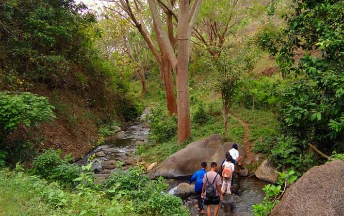 Sungai Cangka Paliran Jadi Spot Belajar Tematik Anak-Anak Gunung Remuk