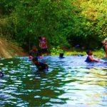 Kolam Cinta, Ketapang, Dimanfaatkan Relawan Sebagai Lokasi Belajar Tematik