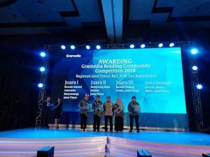 Tidak hanya tahun ini, Ternyata dua tahun lalu Rumah Literasi Indonesia mengikuti GRCC